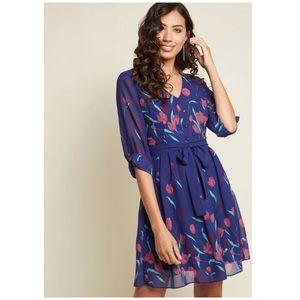 NWT Certainly Flourishing Floral Dress XXS